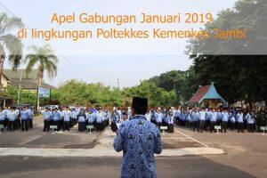 Apel Gabungan Januari 2019