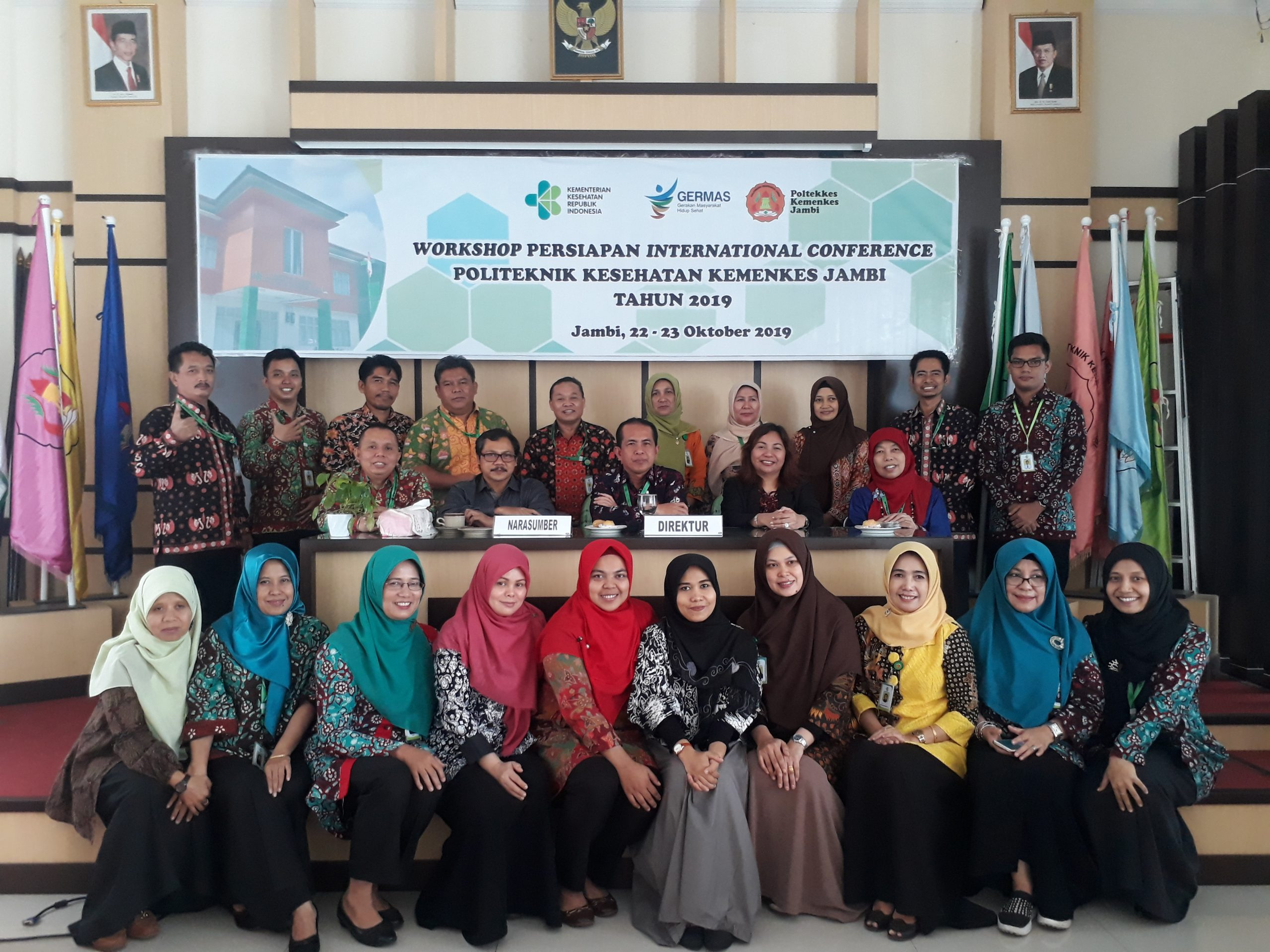 Workshop Persiapan International Converrence